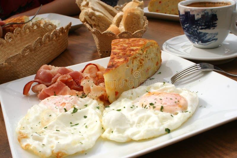 Desayuno español imagen de archivo libre de regalías