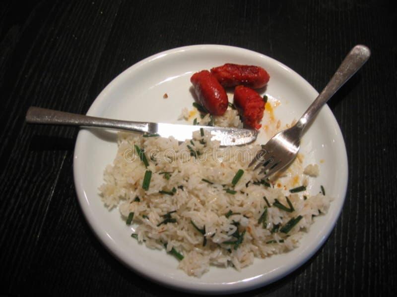 Desayuno filipino recargado foto de archivo libre de regalías