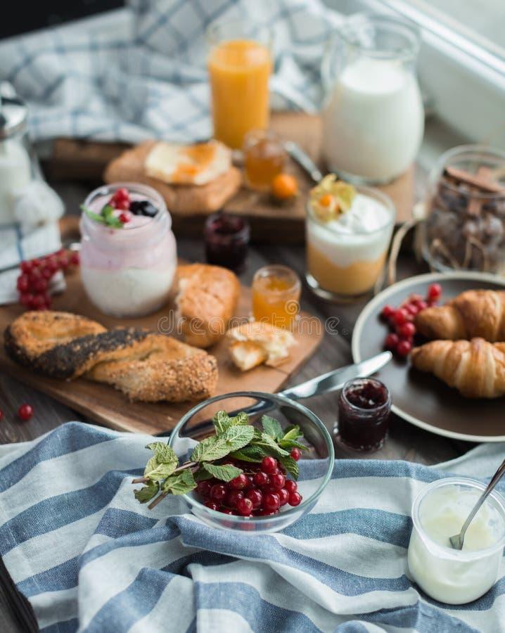 Desayuno fresco imágenes de archivo libres de regalías