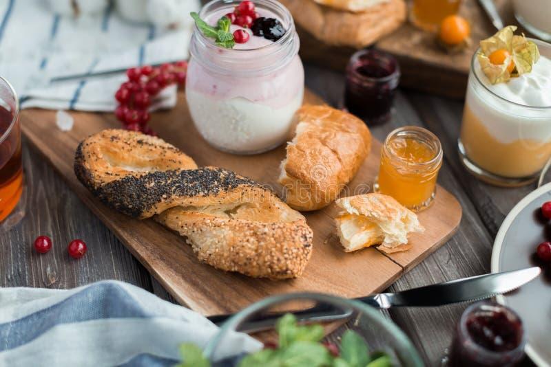 Desayuno fresco foto de archivo