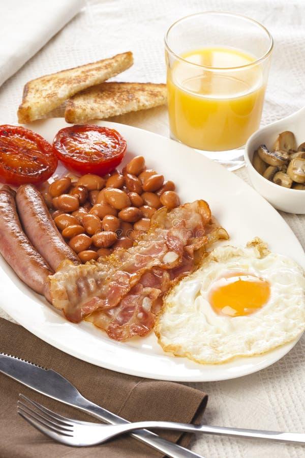 Desayuno inglés foto de archivo libre de regalías