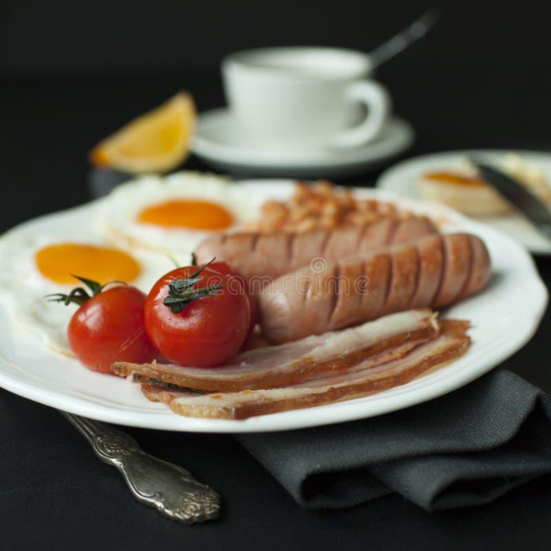 Desayuno inglés 3 imagen de archivo libre de regalías