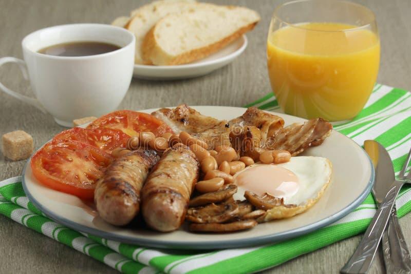 Desayuno inglés clásico imagen de archivo