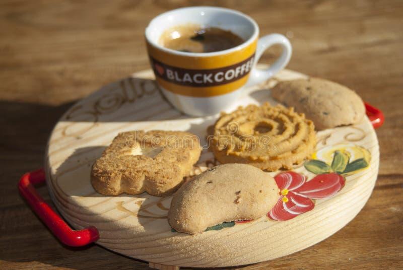 Desayuno italiano foto de archivo