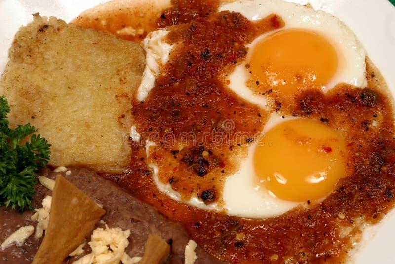 Desayuno mexicano fotografía de archivo