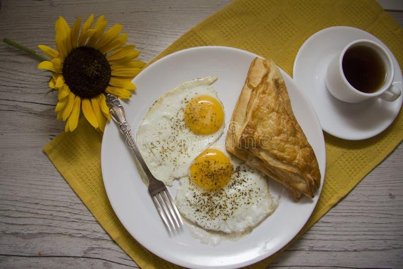 Desayuno rural fotografía de archivo