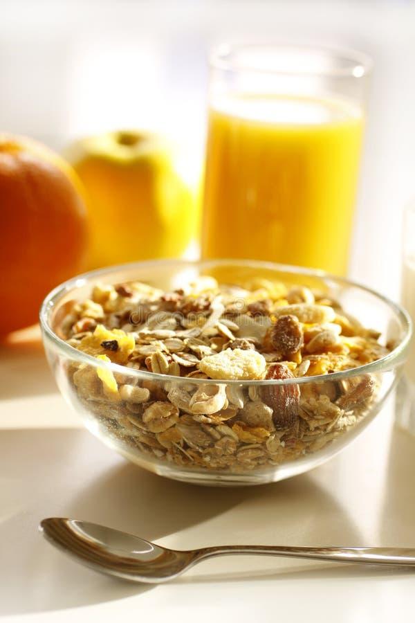 Desayuno sano foto de archivo libre de regalías