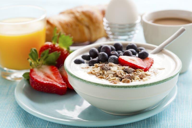 Desayuno sano foto de archivo