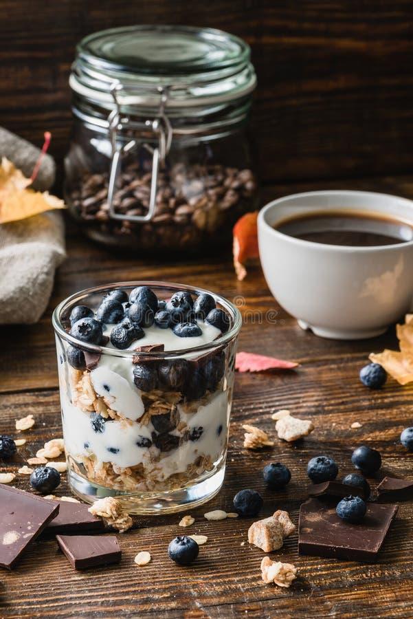 Desayuno sano del otoño fotos de archivo