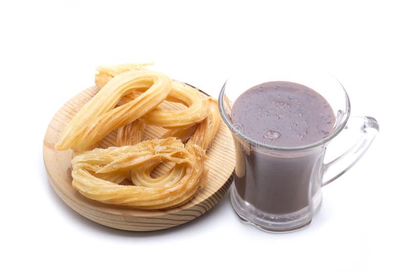 Desayuno típico de España imágenes de archivo libres de regalías