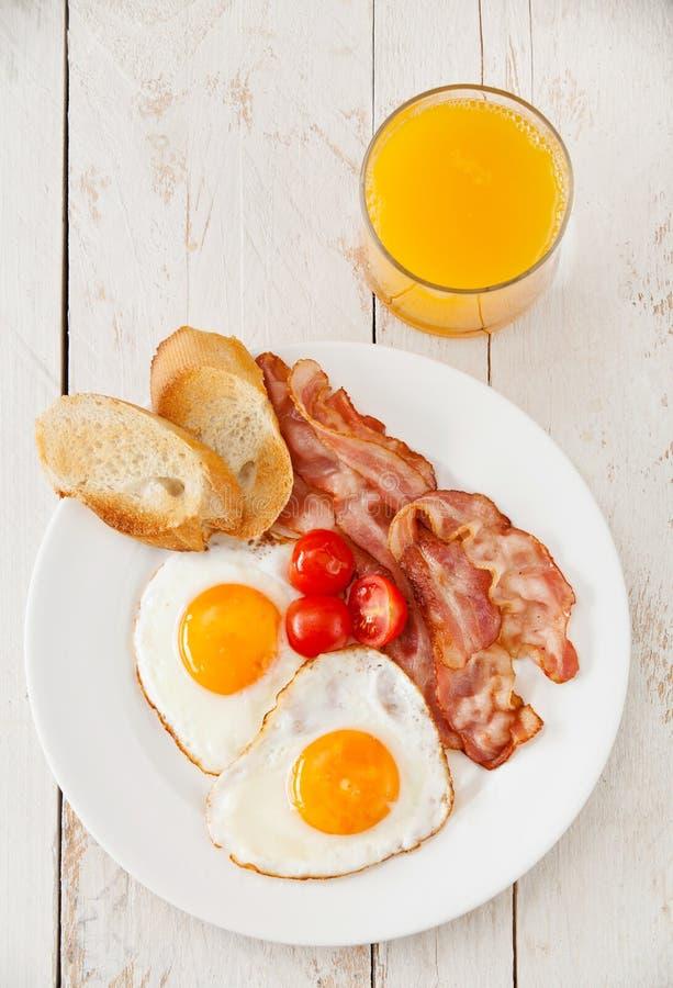 Desayuno tradicional imagen de archivo