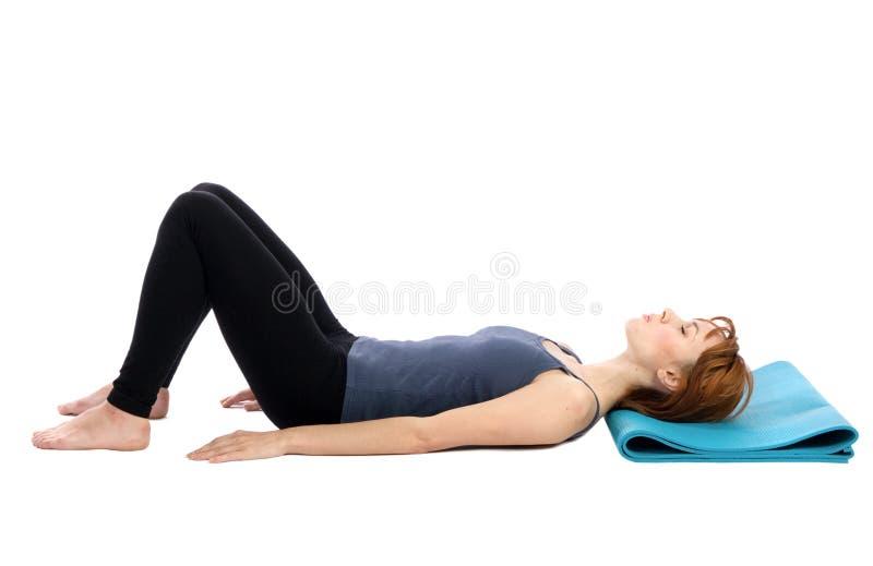 Descanso da mulher foto de stock