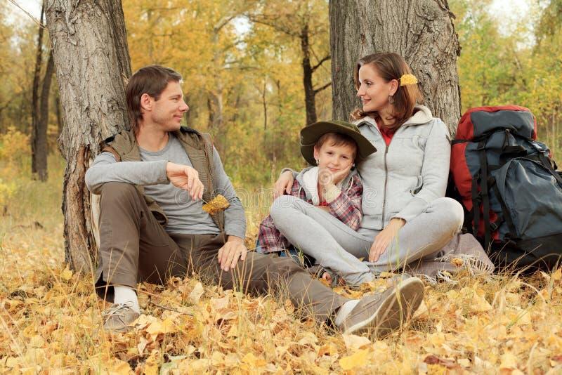 Descanso do outono fotografia de stock royalty free
