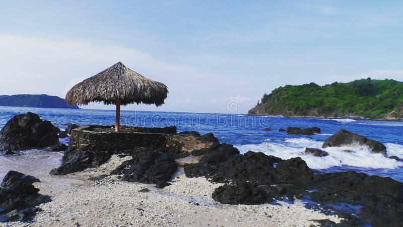 Descanso en la playa imagen de archivo libre de regalías