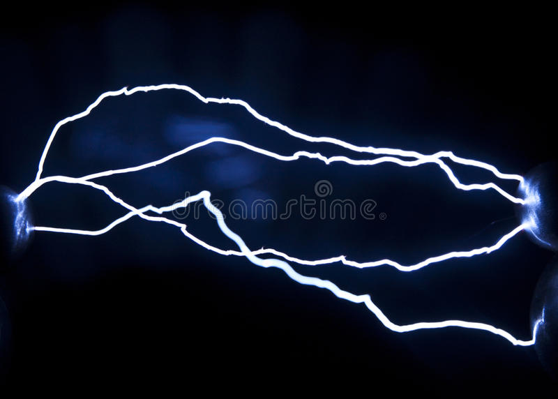 Descarga elétrica fotos de stock