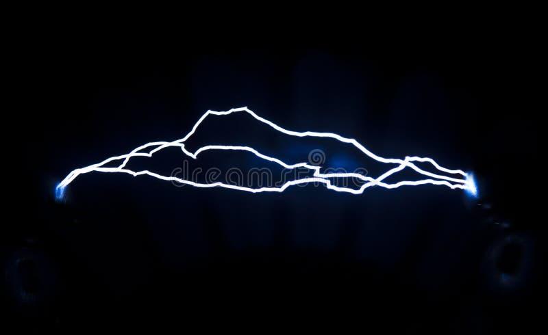 Descarga elétrica foto de stock
