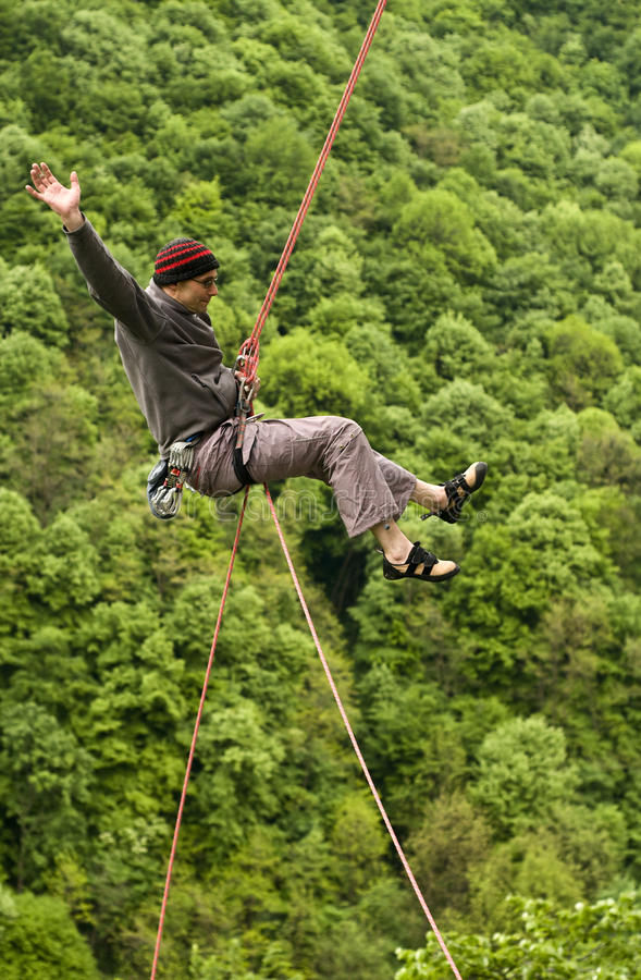 Download Descend And Jump! Royalty Free Stock Photo - Image: 19449505