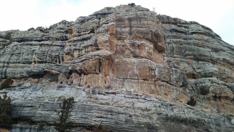 Descend le canyon images stock