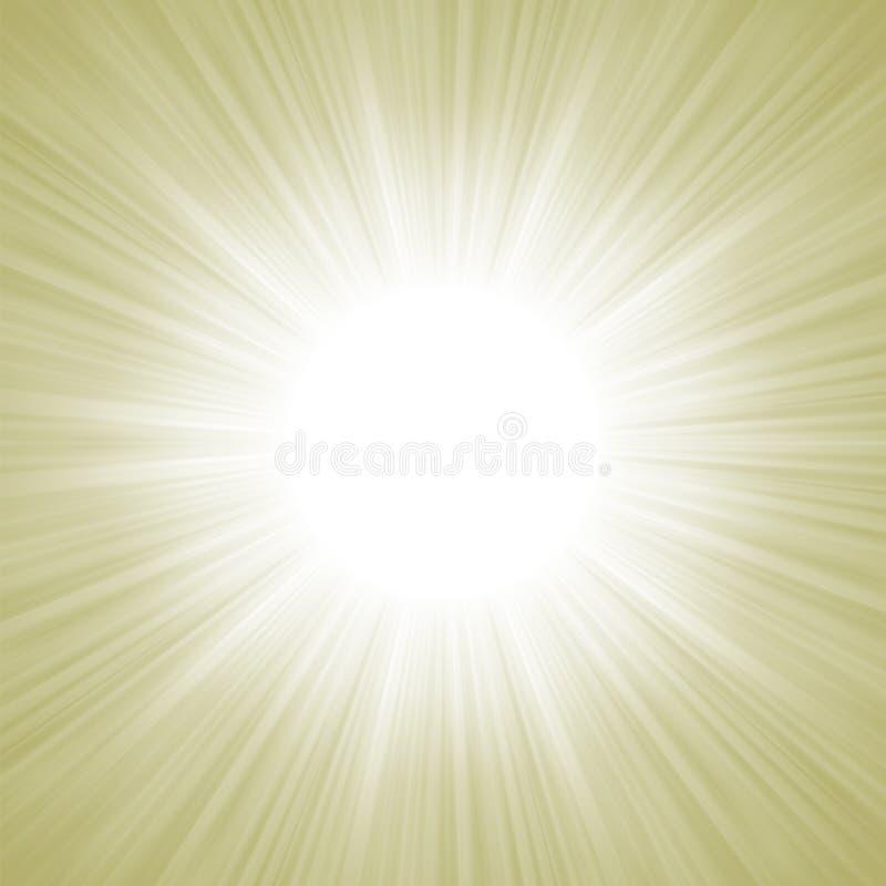 Descending on a path of elegant light. EPS 8 royalty free illustration
