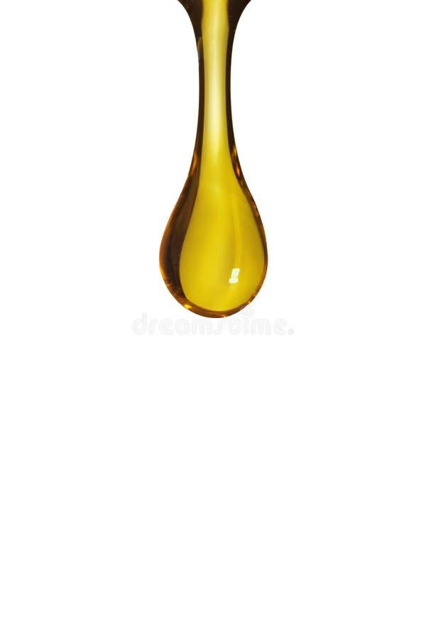 Descenso del aceite fotografía de archivo libre de regalías