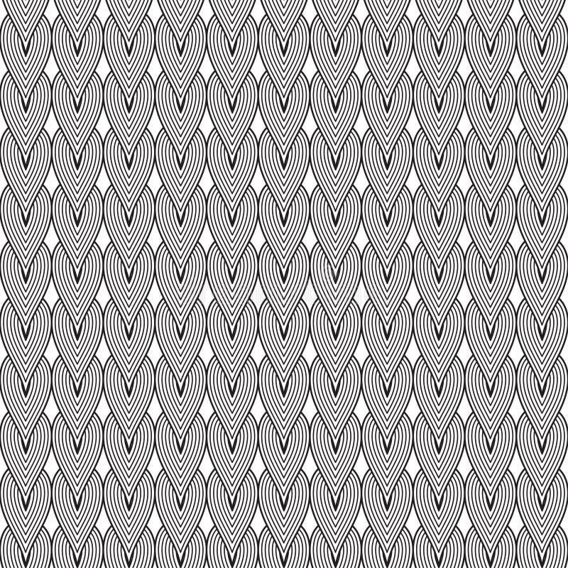 Descenso geométrico abstracto del modelo fotografía de archivo