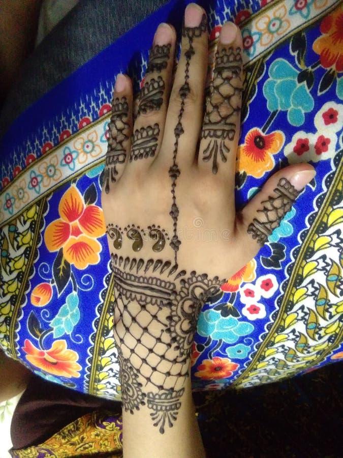Descent mehndi design. Beautiful, latest-design stock photos