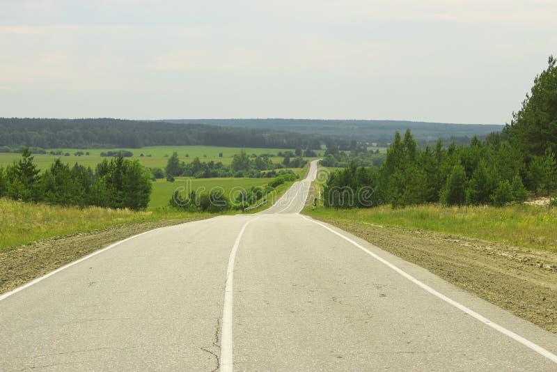 Descente de route image libre de droits