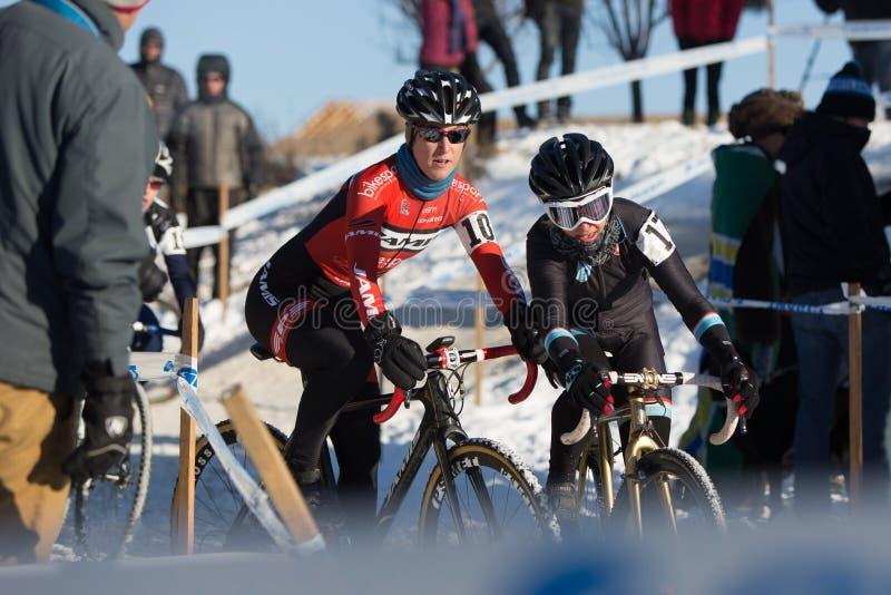 Deschutes-Brauerei-Schale Cyclocross stockfotografie