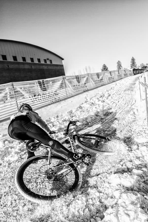 Deschutes-Brauerei-Schale Cyclocross stockbild