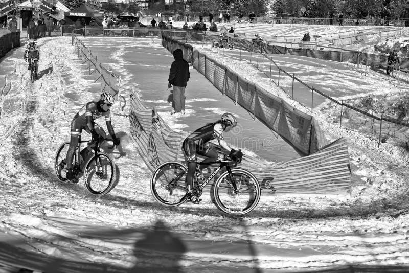 Deschutes-Brauerei-Schale Cyclocross stockfotos