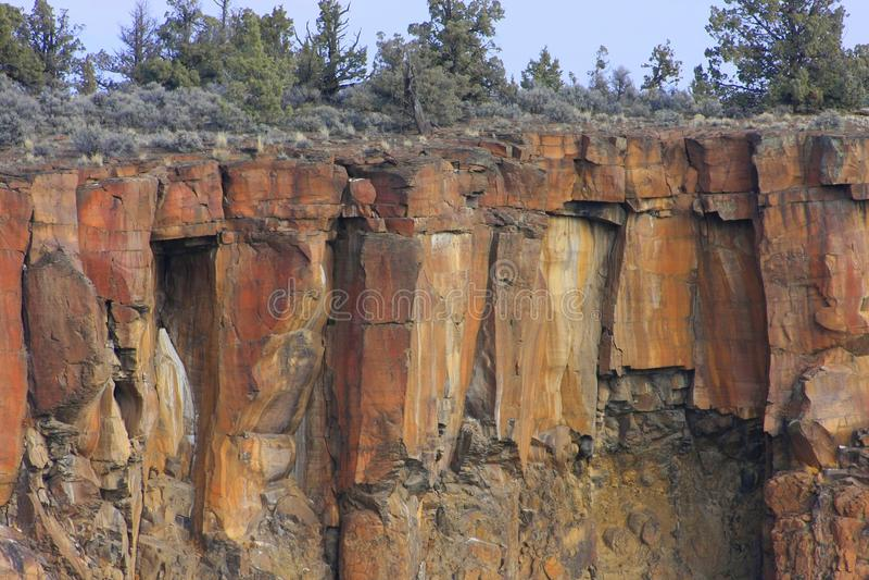 Deschutes River Canyon royalty free stock photos