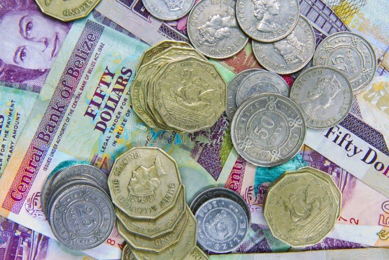 Descontado acima em Belize fotografia de stock