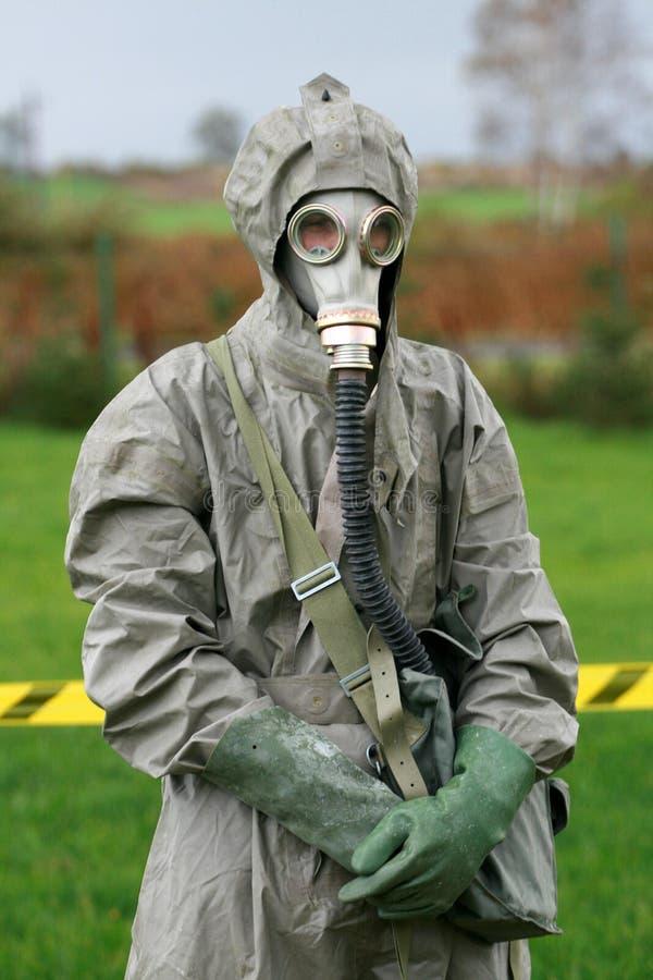 Descontaminação fotografia de stock