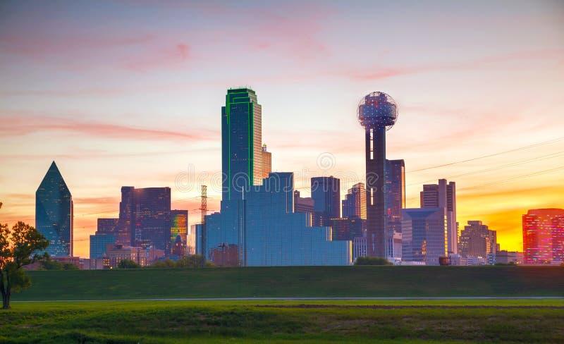Descripción de Dallas céntrica imagenes de archivo