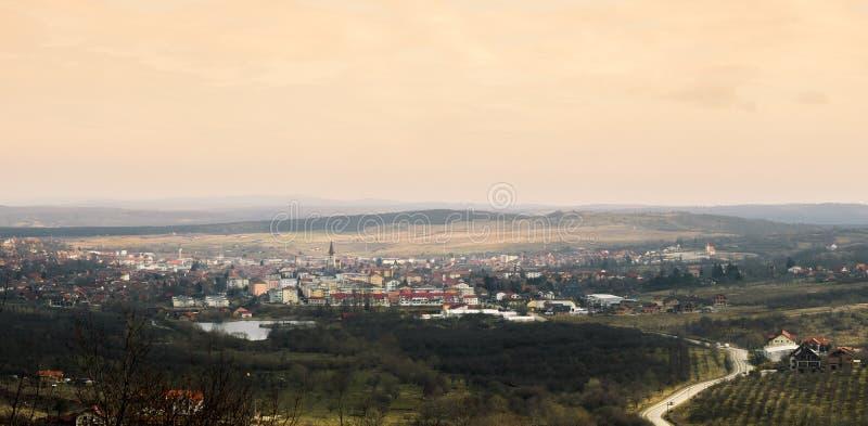 Descripción de la ciudad fotografía de archivo
