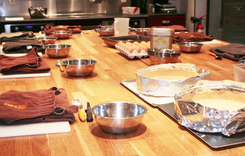 Descripción de un vector de cocina profesional foto de archivo