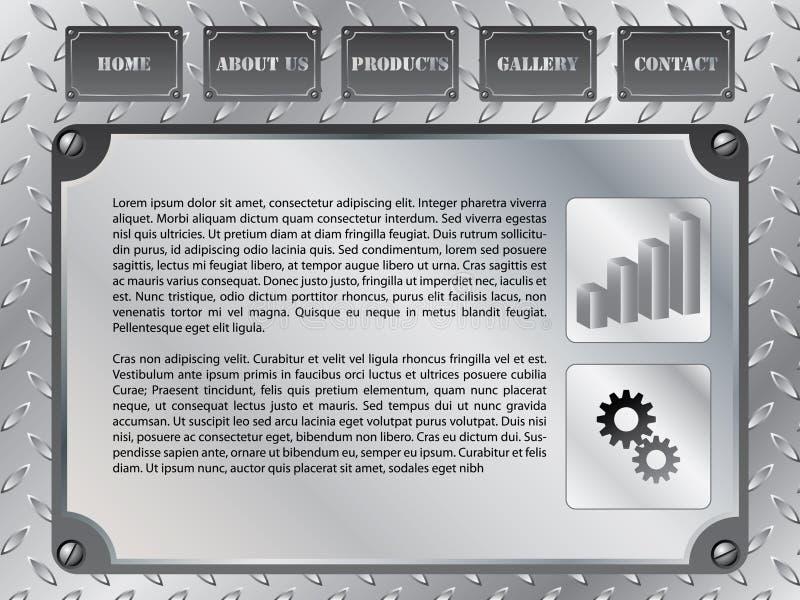 Descripteur 11 de Web illustration libre de droits