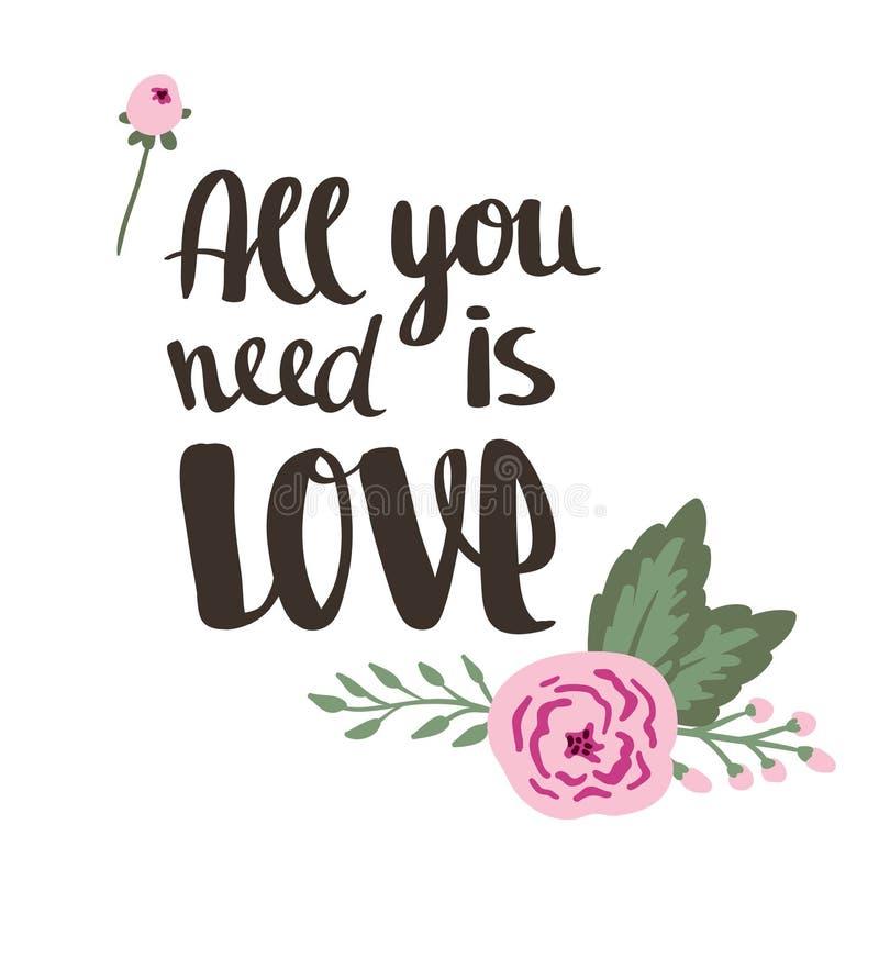 Descripteur d'affiche Le mariage, mariage, font gagner la date, Saint-Valentin illustration stock