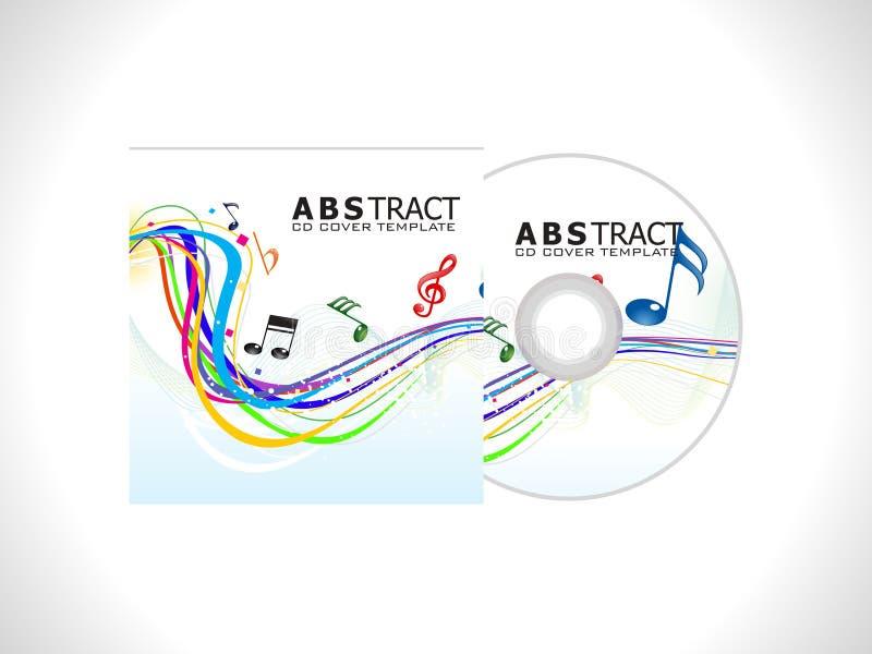 Descripteur de cache cd abstrait illustration libre de droits