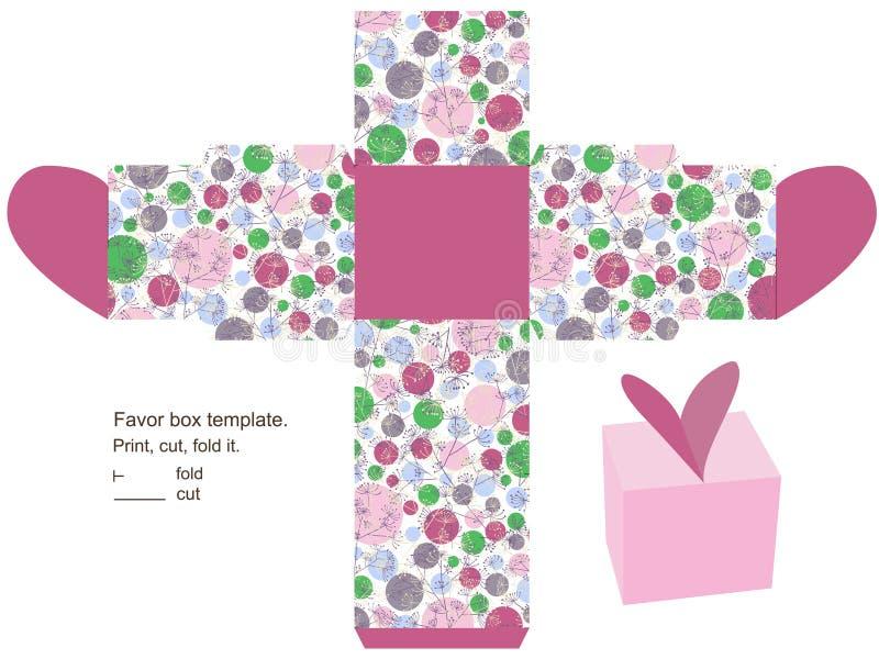 Descripteur de cadre de cadeau illustration stock