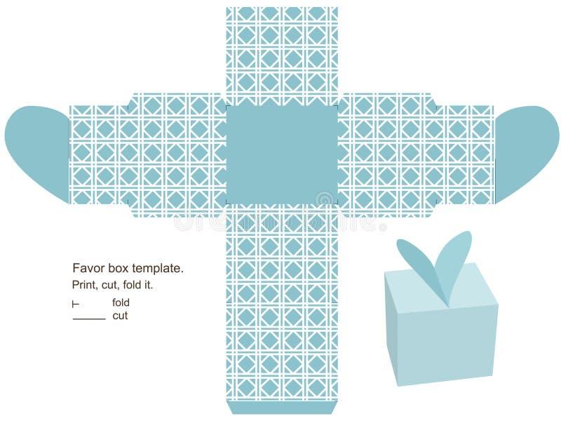 Descripteur de cadre de cadeau illustration de vecteur