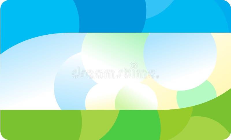 Descripteur de carte de visite professionnelle de visite illustration de vecteur