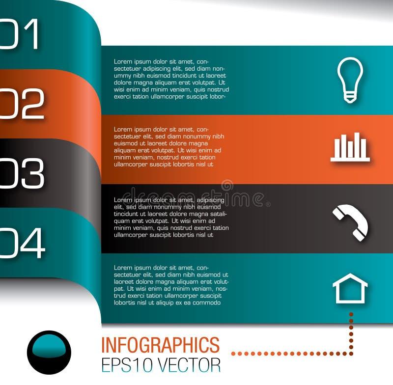 Descripteur de conception d'Infographics   illustration libre de droits