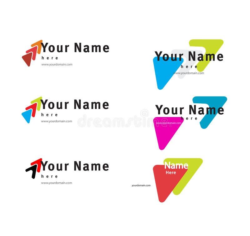Descripteur de logo illustration stock