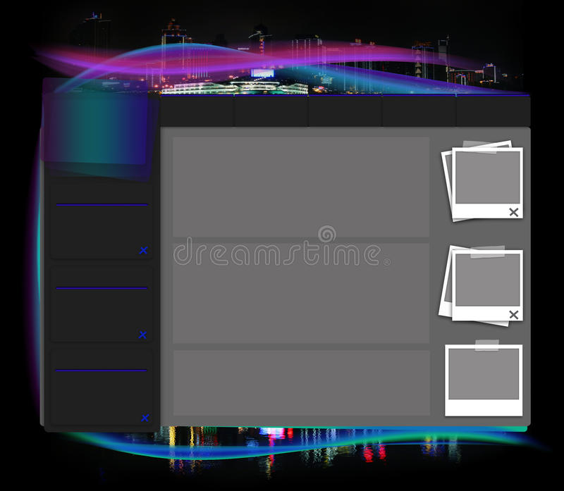 Descripteur de site Web photos stock