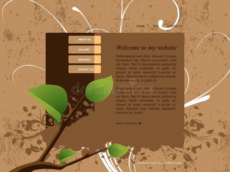 Descripteur de site Web illustration libre de droits