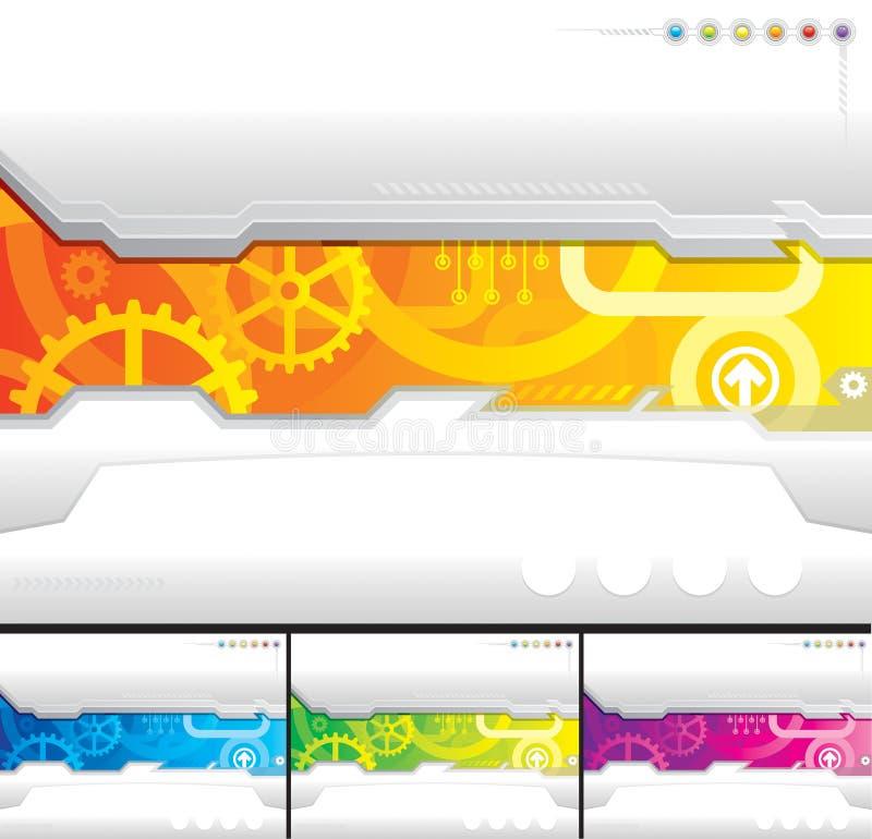 Descripteur de technologie illustration stock