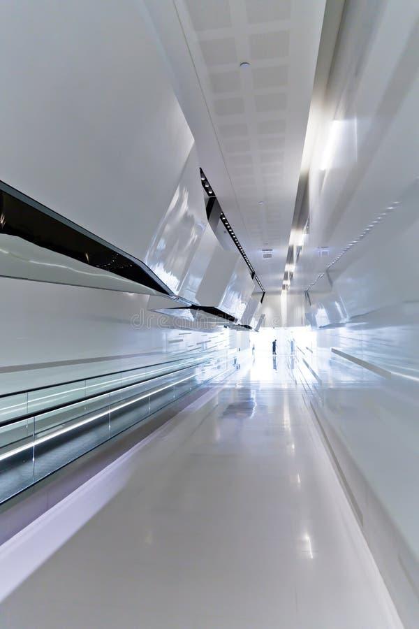 Descripteur intérieur moderne de couloir image stock
