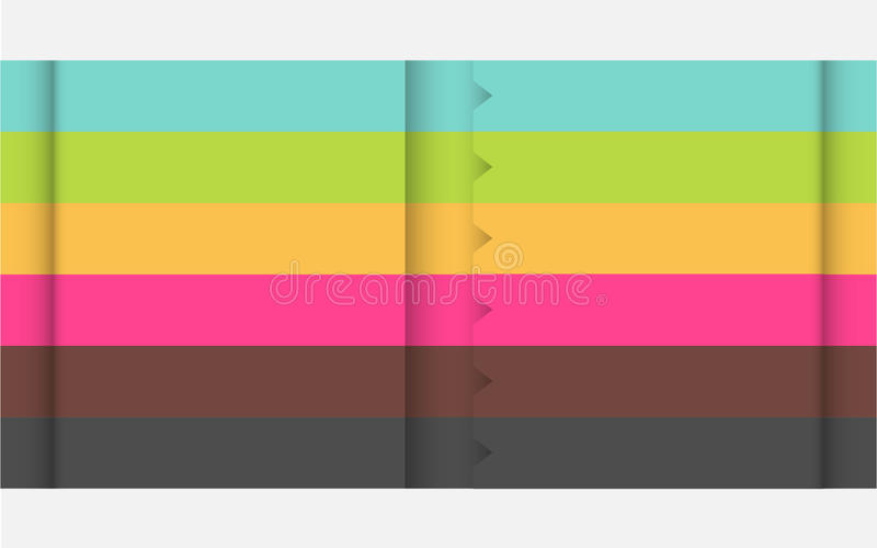 Descripteur multicolore de conception illustration de vecteur