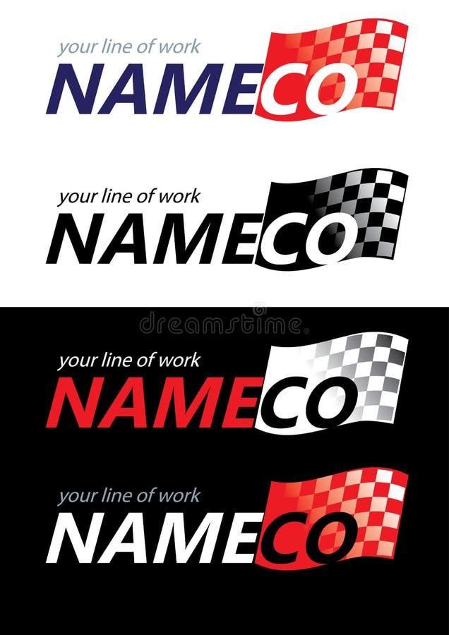 Descripteurs de logo, stigmatisant illustration libre de droits